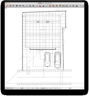 SketchUp合成図