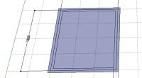 しばらく使っていなかったのでリハビリを兼ねて。 まず、グリッドで455ミリ ピッチで基準線を引いて、長方形ツールで1365×1820を。 それからオフセットツールで内外に52.5ずつ押し出して壁巾105の壁厚を作ります。 […]