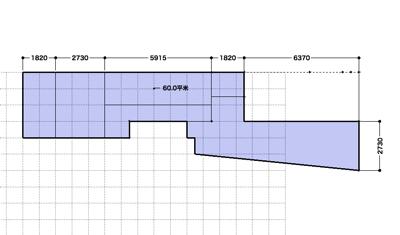 平面図 面積計算