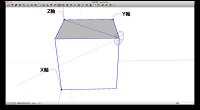 SketchUpユーザーズグループのプレゼンテーションでobunoさんが操作の状況を 動画にされている部分で感心したところがありました。普通のXYZ軸で矩形を扱う場合 大体面にフィットしますから回転軸の設定ではさほど苦労 […]