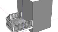 木製バルコニーの修理依頼がありました。平面図ではわかりにくい部分が多くありましたので 写真と現地でのスケッチからこのようにパースを作りました。必要でない部分は簡略化し、 必要な部分だけ表示させるようにしてあります。 分業 […]